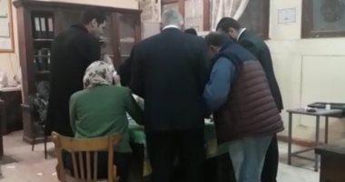 شاهد.. بدء فرز أصوات استفتاء التعديلات الدستورية بروض الفرج