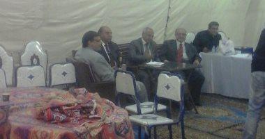 صور.. اللجنة العامة تستعد لاستقبال صناديق اللجان الفرعية لبدء الفرز بالجيزة