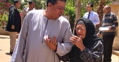 """أكبر معمرة فى المنوفية: """"قولت نعم للدستور علشان بحب السيسى ومصر"""""""
