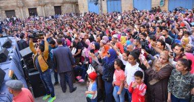 وزيرة الثقافة تفتتح المهرجان الدولى للطبول والفنون التراثية فى دورته الثامنة