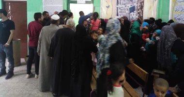 """صور .. استمرار توافد المواطنين للاستفتاء على التعديلات الدستورية بـ""""6 أكتوبر"""""""