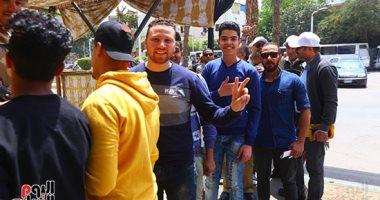 الشباب يتصدر مشهد الاستفتاء على تعديل الدستاور بلجنة المتحف الزراعى بالدقى