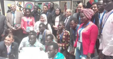 جامعة سوهاج تشارك فى الملتقى الأول للقيادات الشبابية الأفريقية بالفيوم
