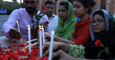 صور.. تأبين ضحايا هجمات سريلانكا الإرهابية