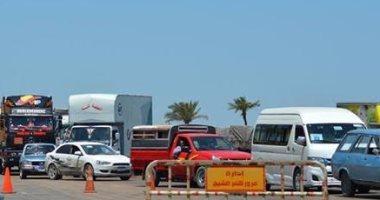 ضبط 1296 مخالفة مرورية متنوعة بكفر الشيخ