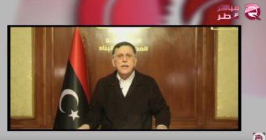 فائز السراج ووزير الخارجية التركى فى الجزائر لتمرير سيناريو غزو ليبيا