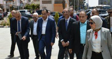 صور.. رئيس الوزراء يصل بورسعيد لمتابعة استعدادات إطلاق التأمين الصحى الشامل