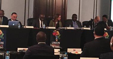 صور.. اجتماع الجمعية العمومية للاتحاد الأفريقى للجودو