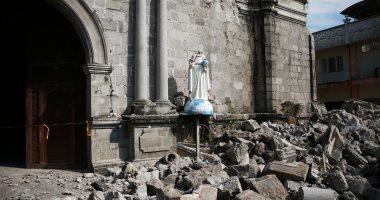 زلزال الفلبين يتسبب فى دمار هائل وعشرات القتلى والمصابين