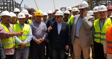 وزير البترول: انتهاء مشروع إنتاج البنزين عالى الأوكتين بداية 2020.. فيديو وصور