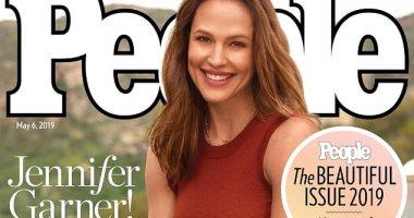 هكذا ظهرت جينيفر جارنر على غلاف مجلة people