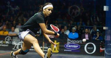 نوران جوهر تتأهل إلى نهائى بطولة بريطانيا المفتوحة للاسكواش