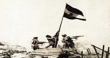 العلم المصرى على أرض سيناء