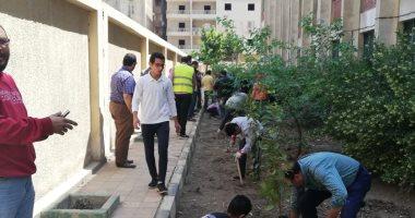 """البيئة تشارك فى مبادرة """"شجّرها"""" بزراعة الأشجار فى المدارس"""