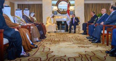 بن راشد بعد لقاء السيسى: نسعى للتنسيق الاقتصادى مع رئيس أكبر دول المنطقة