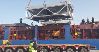 وصول 20 طرد معدات بوزن 395 طنا لميناء سفاجا