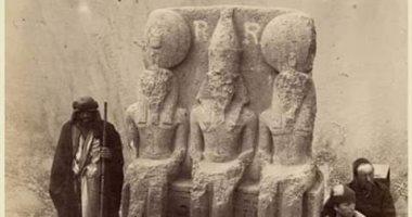شاهد.. تمثال رمسيس الثانى المكتشف أثناء حفر قناة السويس 1867