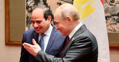 بوتين: علاقات روسيا ومصر تتطور بقوة.. والقاهرة شريك موثوق لموسكو