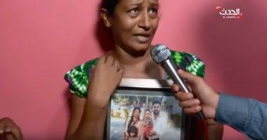 شاهد. سريلانكية تروى بالعربية مأساة مقتل طفلين من عائلتها فى حادث الإرهابى
