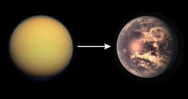 """يعنى إيه """"تيتان"""".. قمر كوكب زحل الذى يشبه الأرض"""