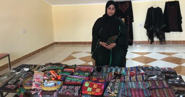 فيديو وصور .. معروضات السيناويات بمهرجان الهجن بشرم الشيخ