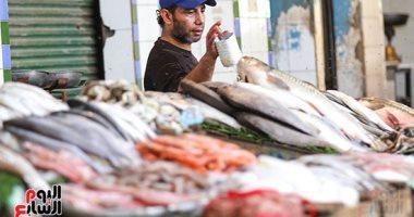 أسعار السمك اليوم الجمعة 15-5-2020 بسوق العبور