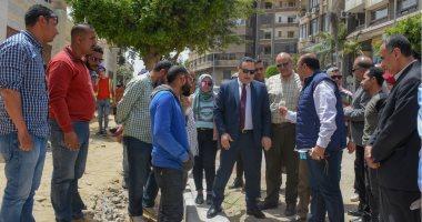 محافظ الإسكندرية يتفقد التجهيزات النهائية بحديقة الإسعاف استعدادا لافتتاحها