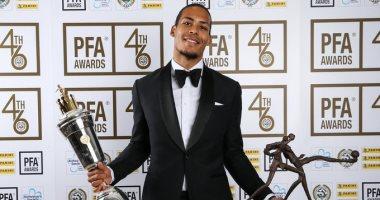 زى النهارده.. فان دايك يفوز بجائزة أفضل لاعب فى الدوري الإنجليزي