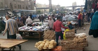 قارئ يشكو من وجود اشغالات الباعة الجائلين بمنطقة السيوف الاسكندرية