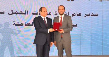 صور.. السيسي للمصريين: ثمار الإصلاح لم تنته.. ويؤكد: الدول لا تقوم إلا بالعمل