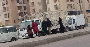 أهالى مساكن زهراء الأبعادية بالبحيرة يطالبون بكوبرى مشاه