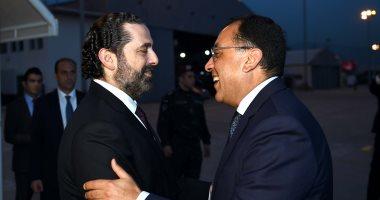 رئيس الوزراء يتوجه لمطار لبنان استعدادا للعودة إلى القاهرة
