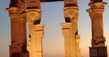 شاهد.. الآثار تنتهى من أعمال مشروع تطوير معبد كلابشة