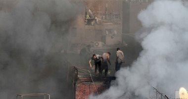 فيديو.. اشتعال النيران فى قمامة بشارع السودان.. والحماية المدنية تسيطر على الحريق