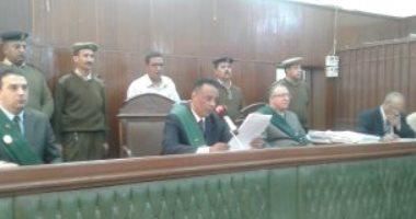 """تأجيل محاكمة المتهمين بـ""""محاولة اغتيال النائب العام المساعد"""" لـ 27 مايو"""
