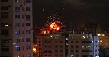 استشهاد 4 فلسطينيين فى قصف إسرائيلى للمقاومة شمال بيت لاهيا بغزة