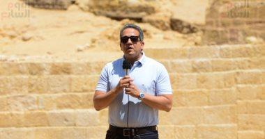 وزير الآثار: جارى استكمال ترميم تمثال رمسيس الثانى بمعبد الأقصر