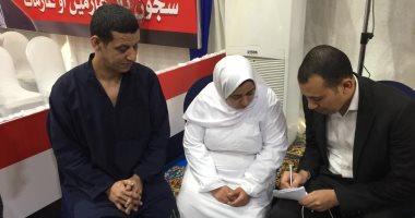 """صور.. غارمة لـ""""اليوم السابع"""": هتسحر مع أولادى واصلى وأدعى لمصر والسيسي"""
