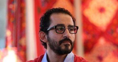 """أحمد حلمى يصور """"خيال مآتة"""" فى مدينة الإنتاج الإعلامى"""