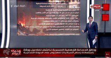 """فيديو.. """"الحياة اليوم"""" يواصل فضح مخططات الإخوان لنشر الفوضى وبث الشائعات"""