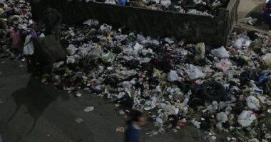 شكوى من انتشار القمامة بشارع الخليج المصرى فى الأميرية