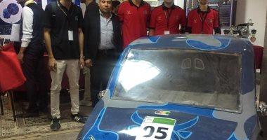 طلاب جامعة قناة السويس المبتكرين يصممون سيارة كهربائية وغواصة