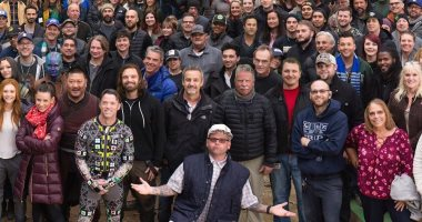 قبل الوداع.. روبرت داونى يشكر طاقم عمل سلسلة Avengers.. فيديو وصور