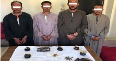 الأمن ينتفض ضد تجار المخدرات برمضان.. ضبط 4 كيلو أفيون و 9 الآف قرص -