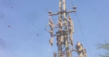 عودة التيار الكهربائى لكافة مناطق العريش بعد انقطاع طوال اليوم