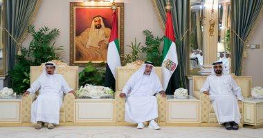 فيديو وصور.. ظهور جديد للشيخ خليفة بن زايد لتهنئة حكام الإمارات بشهر رمضان