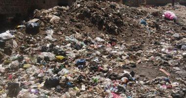 قارئ يشكو من انتشار القمامة والمخلفات بشارع محمد نجيب بالمرج