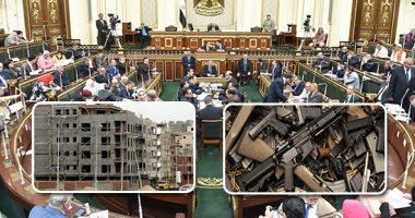 """""""تشريعية البرلمان"""" توافق على تعديل قانون مكافحة الإرهاب.. يواجه استغلال العناصر الإرهابية للعقارات لتسهيل ارتكاب جرائمهم وإخفاء الأدوات والأسلحة.. وإلزام من يؤجر عقار بإخطار الشرطة والحبس والغرامة للمخالف"""