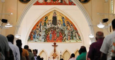 صور.. انطلاق أول صلاة بكنيسة فى سريلانكا بعد هجمات عيد الفصح