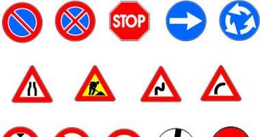 إشارة مرور.. تعرف على علامات تنذر بوجود دوران وأعمال تطوير على الطرق